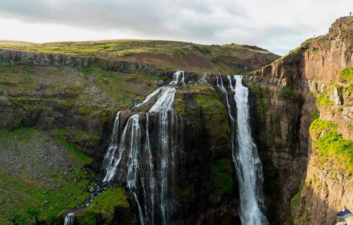 Viajar Glymur en Islandia