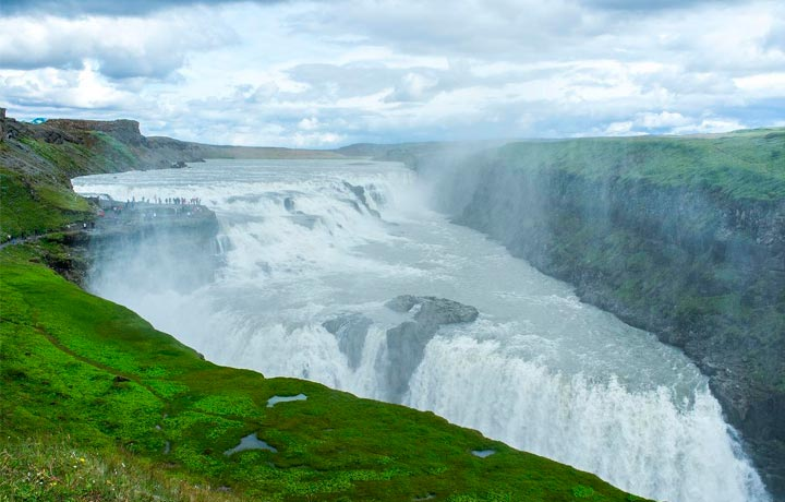 Gulfoss Cascada Islandia