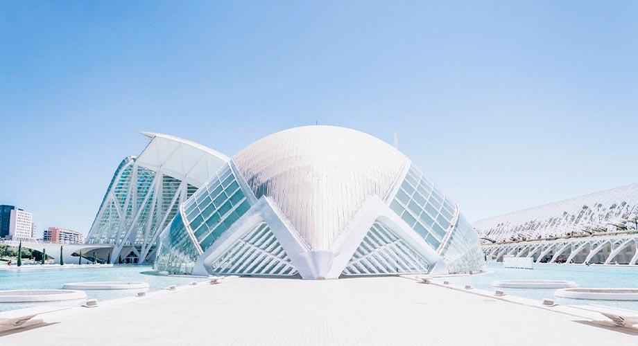 Ciuda de las Artes y Las Ciencias de Valencia